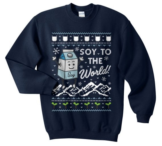 10 Hilarious Vegan Christmas Jumpers You Can Buy Online Right Now