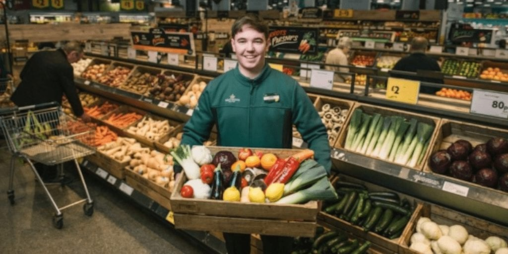 Morrisons is the first UK supermarket to ban plastic fruit packaging