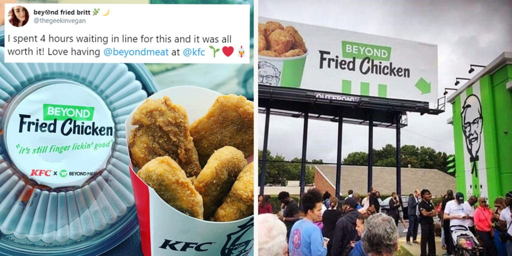 KFC's Vegan Fried Chicken Sold out in Just Five Hours