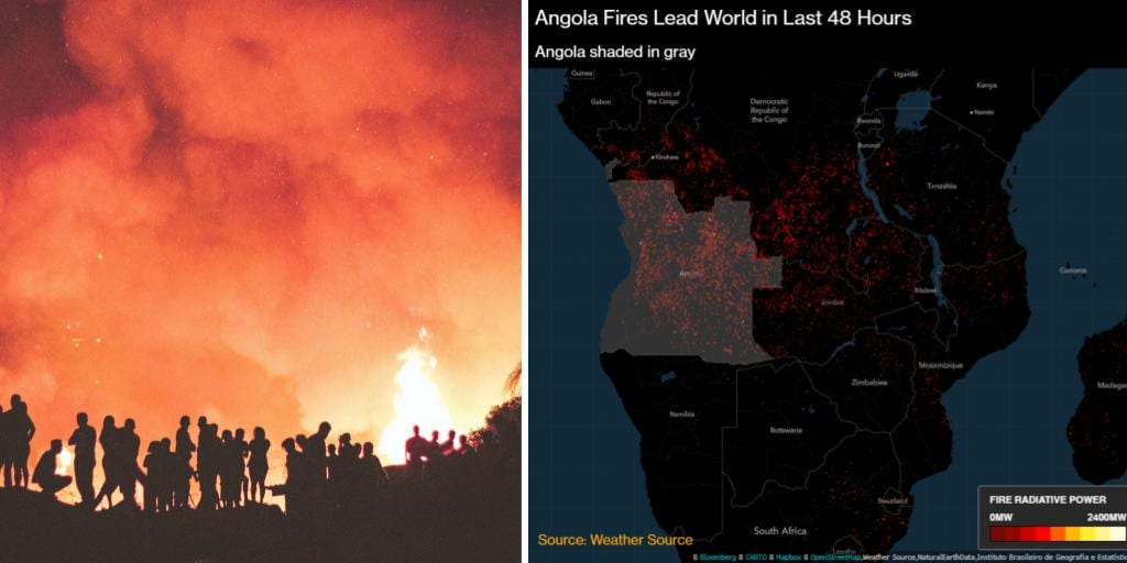 Central Africa is Burning More Than the Amazon, yet the World Remains Silent