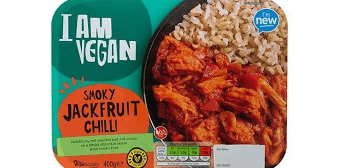 Aldi expands vegan ready meal range