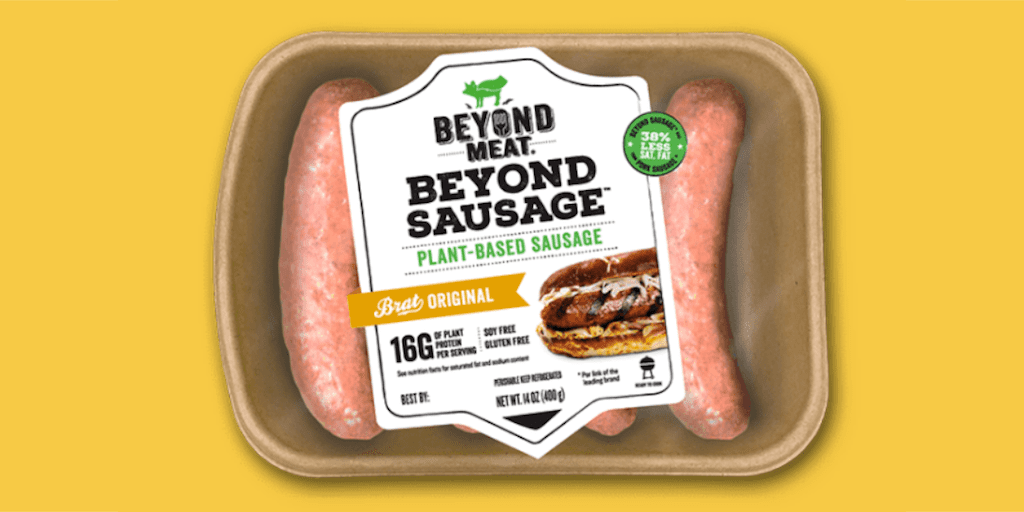 Beyond Meat launches plant-based sausages in UK supermarkets
