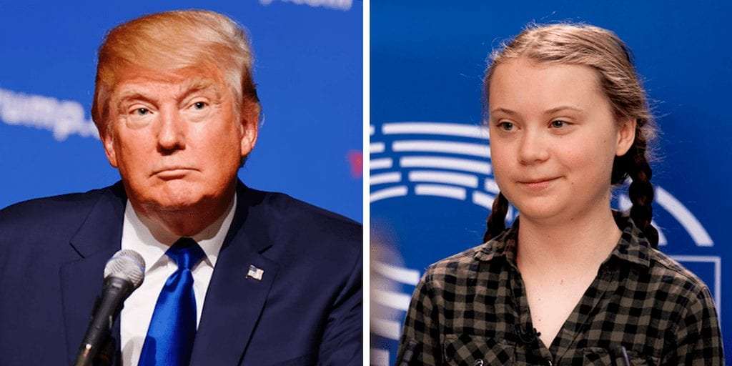 Greta Thunberg owns Donald Trump after he mocks her on Twitter