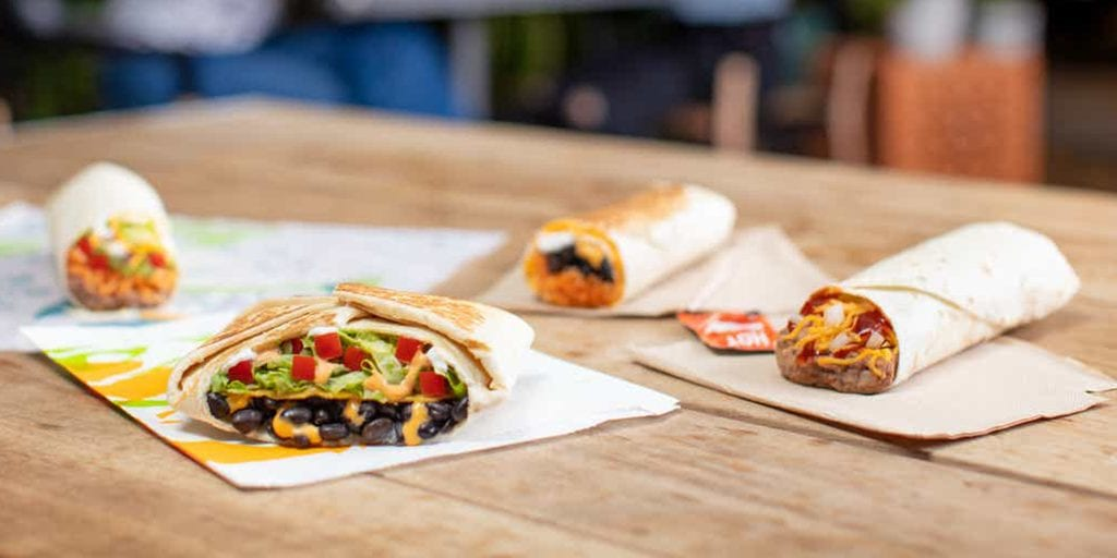 Taco Bell launches first ever meat-free menu board