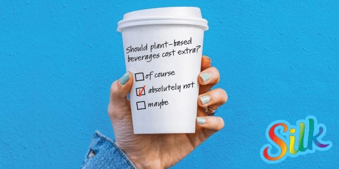 Vegan brand pays for dairy free drinks on National Coffee Day