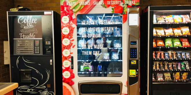 Vegan vending machines launched at Canadian hospitals