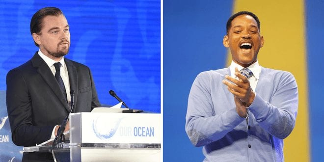 Will Smith and Leonardo DiCaprio form alliance to save the rainforest