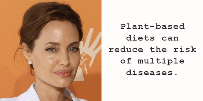 Angelina Jolies doctor promotes veganism to fight cancer featured image