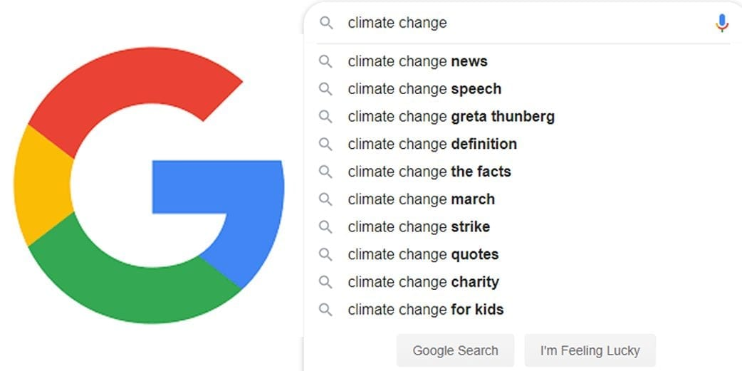 Searches for 'climate change' beat 'Game of Thrones' for the first time ever
