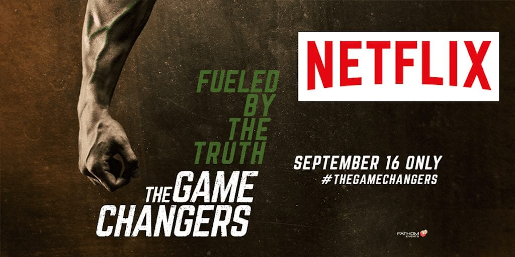 Vegan documentary The Game Changers is on Netflix