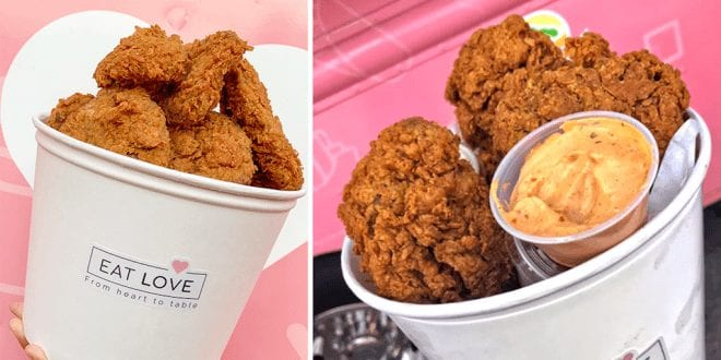 Vegan fried chicken shop opens in the US