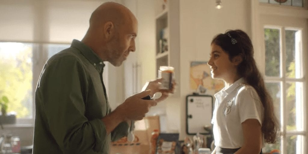 Daughter tells dad I don't want to eat animals any more in new Tesco ad