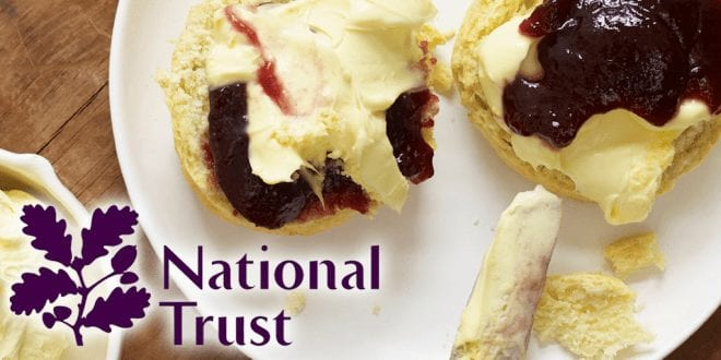 National Trust launches vegan cream tea in 350 of its UK locations