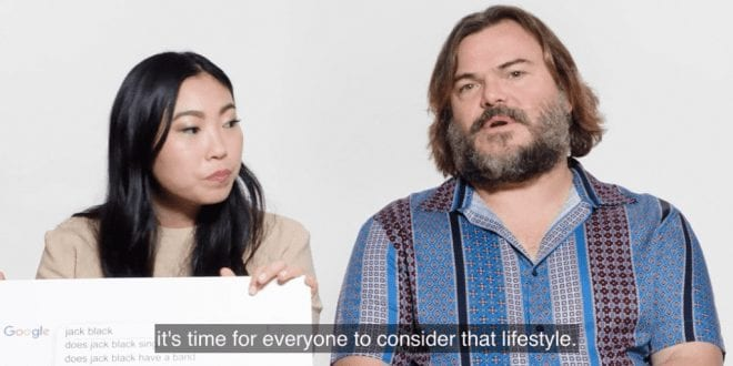 Actor Jack Black says Everyone should consider going vegan for the environment
