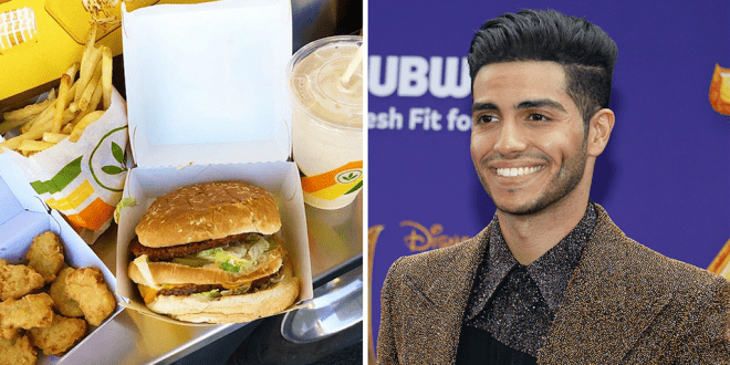 Actor Mena Massoud to fund vegan fast food chain expansion