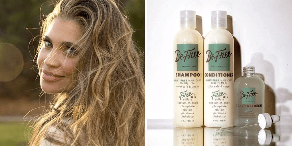 Danielle Fishel launches vegan and cruelty-free hair care line