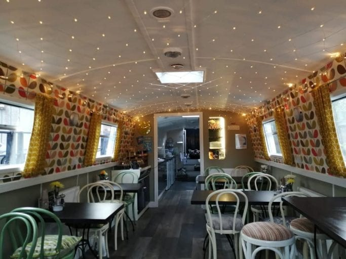 Lymm gets it's first floating vegetarian and vegan cafe