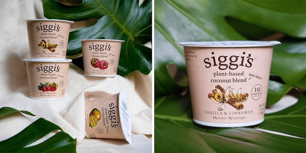 Siggi's debuts dairy-free high-protein yogurt line in the US