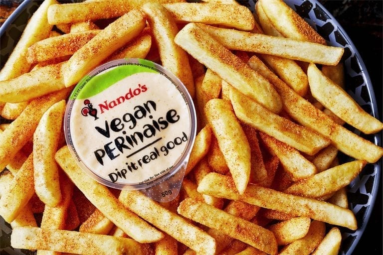 Nando's to launch vegan PERinaise in January