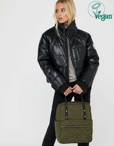 EMMY VEGAN QUILTED BAGPACK