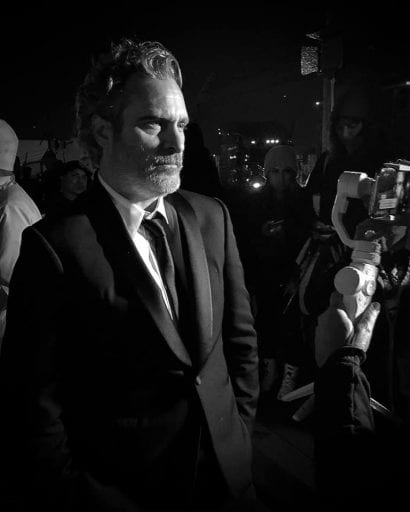 Joaquin Phoenix heads straight to Pig Vigil post SAG award win