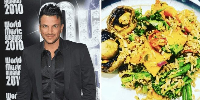 Peter Andre goes vegan