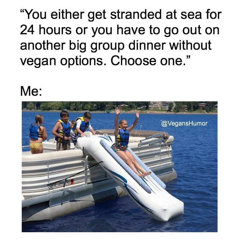 Stranded at sea all day long