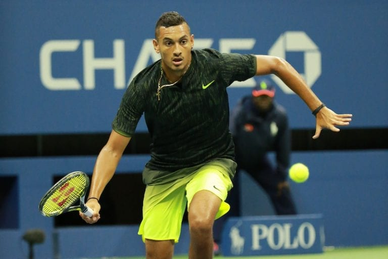 Tennis Player Nick Kyrgios is a vegan