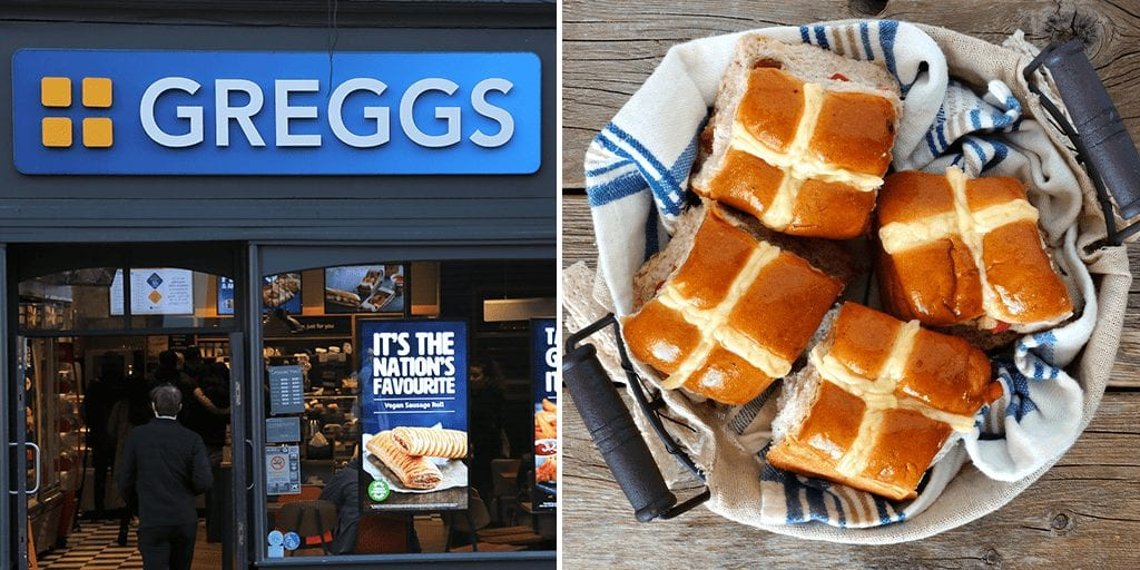 Greggs to 'soon' launch vegan hot cross buns