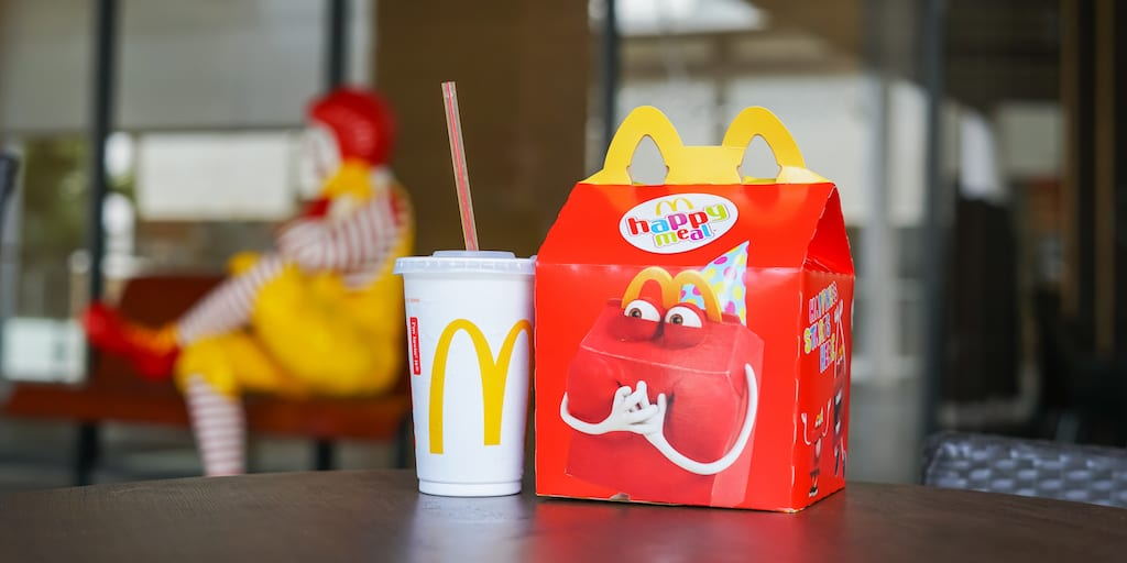 McDonald's to cut 3,000 metric tonnes of plastic waste by removing Happy Meal toys