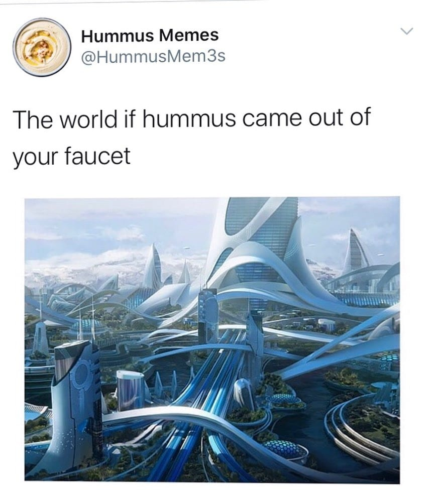 the world if hummus came out