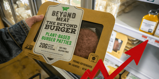 Beyond Meat shares soar, coronavirus stalls meat plant production