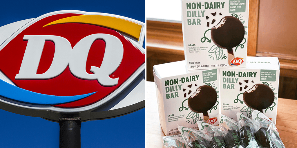 Dairy Queen launches its first vegan ice cream bars