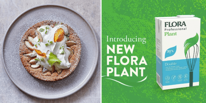 Margarine maker Flora launches vegan heavy cream made from fava beans