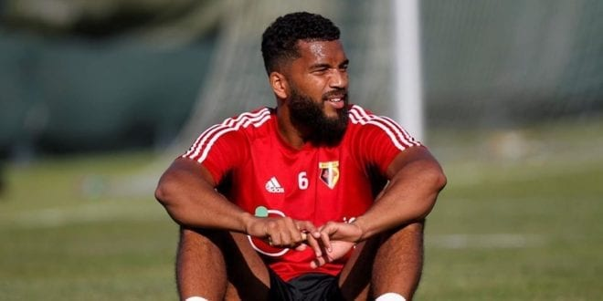 Watford defender Adrian Mariappa says he turned 'full vegan' for his health