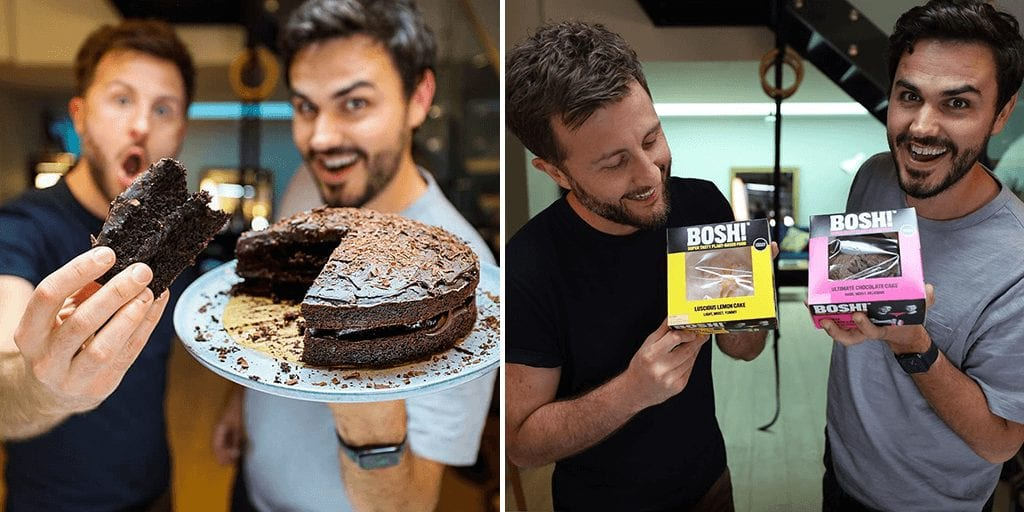 BOSH! just launched its first vegan cake range in UK