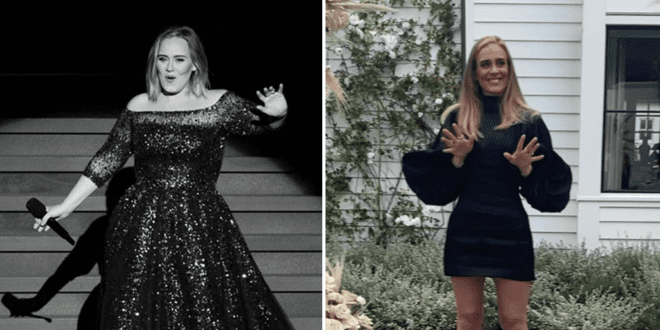 Insiders suggest Adele shed 100 lbs with a special plant-based diet