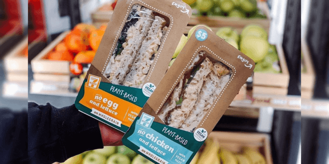 7-Eleven just launched vegan products