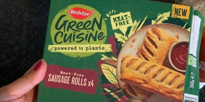 Birds Eye launches its first vegan sausage roll in UK