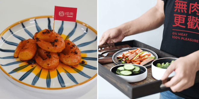 Chinese plant-based company launches vegan crayfish and pork