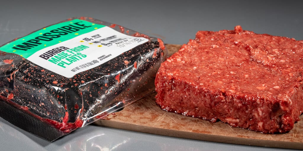 Impossible Foods' plant-based meat online