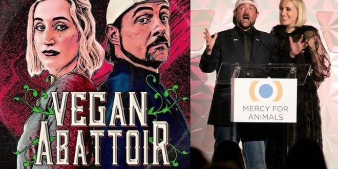 Kevin Smith and daughter just launched 'Vegan Abattoir' podcast to bust myths about veganism