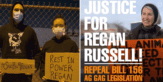 Joaquin Phoenix attends vigil to honour fallen animal activist Regan Russell