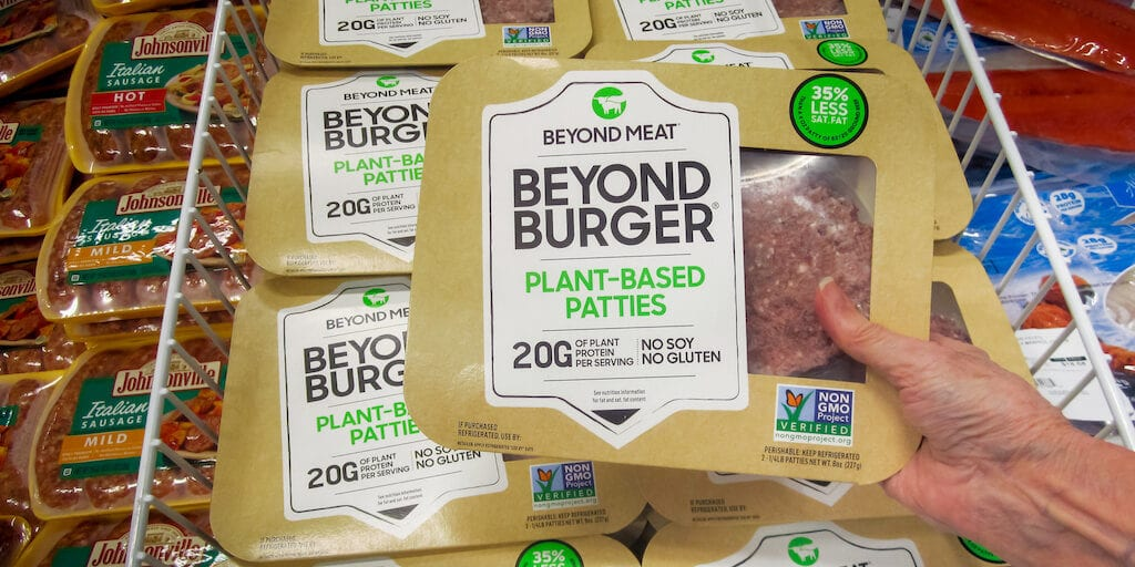 Plant-based meat sales spike by 23%