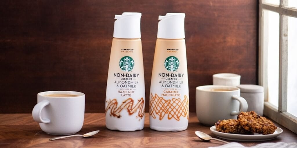 Starbucks to launch vegan coffee creamers in US stores