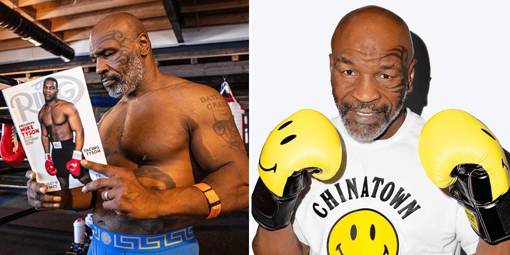 Vegan boxing champ Mike Tyson is returning to the ring at 54 years