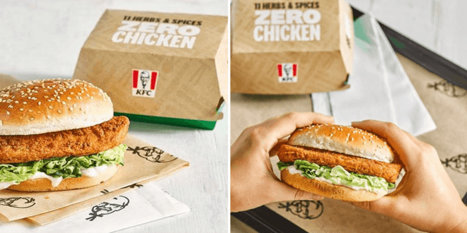KFC vegan burger returns to UK outlets next week