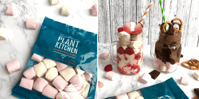 Marks and Spencer just launched vegan marshmallows in its Plant Kitchen range