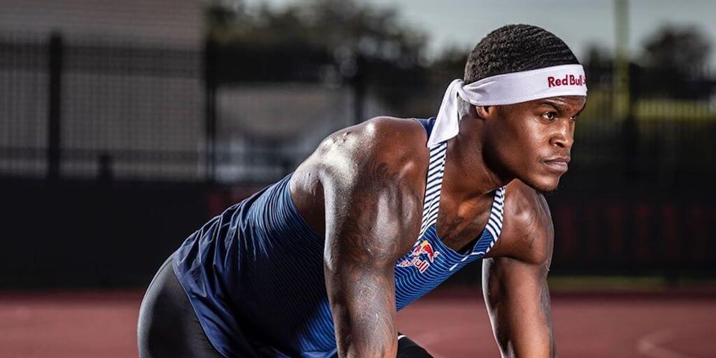 Sprinter Elijah Hall tells fans going vegan has been 'the best decision' ever