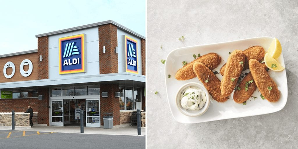 Aldi's new vegan dippers launch to 'rival McDonald's'